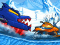 Spiele Car Eats Car: Winter Adventure